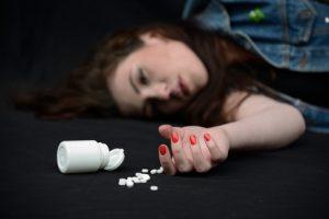 Overdose on pills